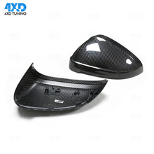 Dry Carbon Fiber Mirror Cover For Audi RS5 A4 B9 Rear Side View Mirror Cover S4 A5 S5 RS4 accessories 2016 2017 2018 2019 a3 a4 a5 carbon fiber replaced side mirror cover for audi a3 s3 8p a4 b8 s4 rs4 2008 2010 a5 s5 8t 2007 2009