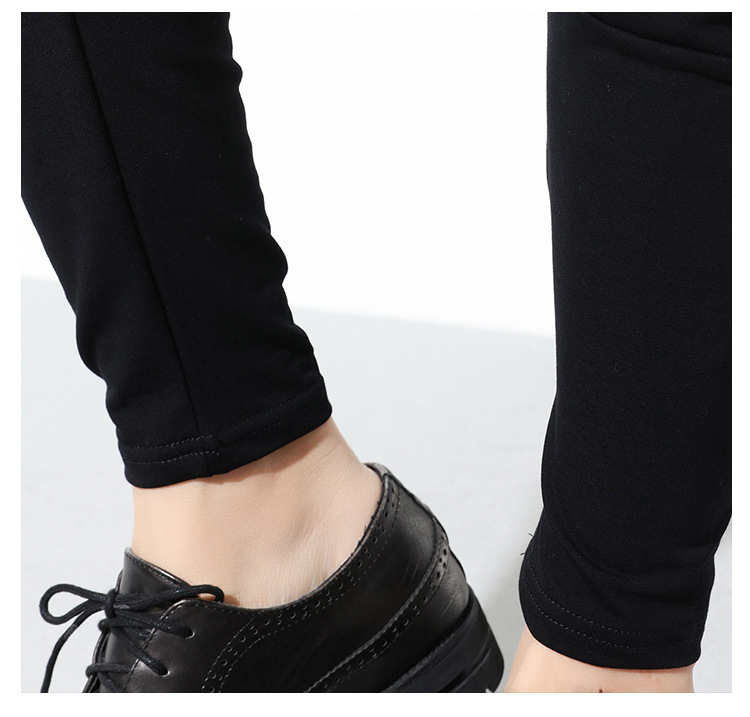 HTB1cNQfwStYBeNjSspkq6zU8VXab - [EAM] High Quality 2019 Spring Fashion New Loose Casual High Elastic Waist Black Harem Pants Women's Trouser All-match YC79501