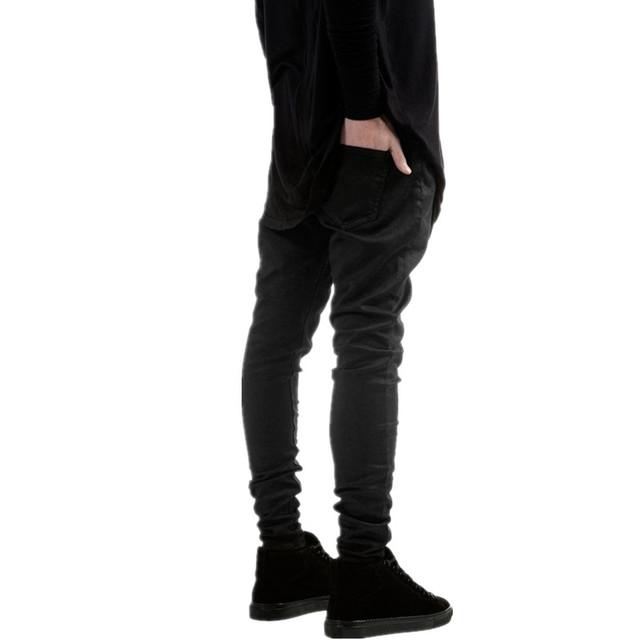 Men's Stylish Black Skinny Jeans