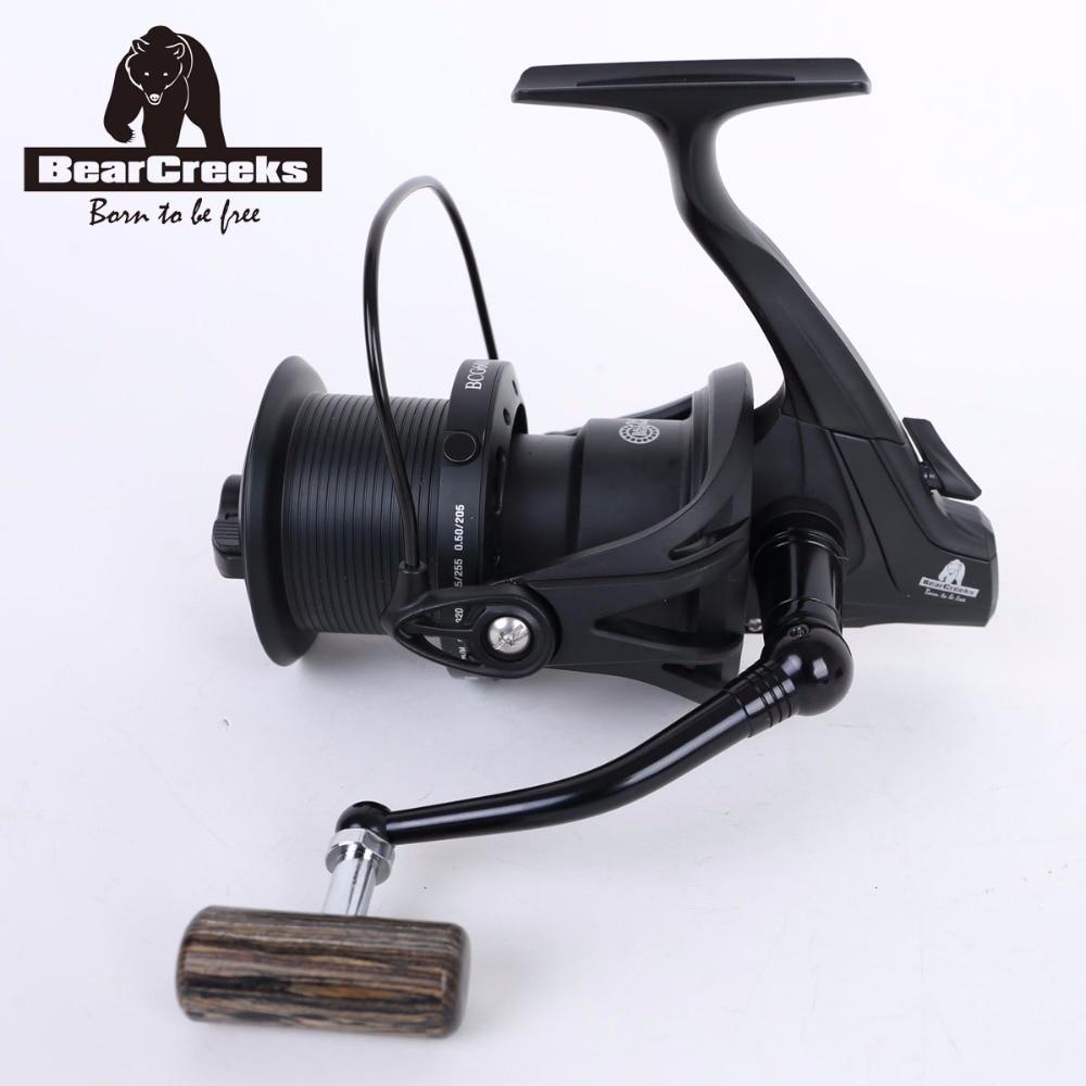 Fishing Reels BearCreeks BCG6000 Carp Long Cast Big Spinning Reel