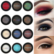 12 Colors Matte Eye Shadow Powder Pigment Nude Long Lasting Bright Eyeshadow