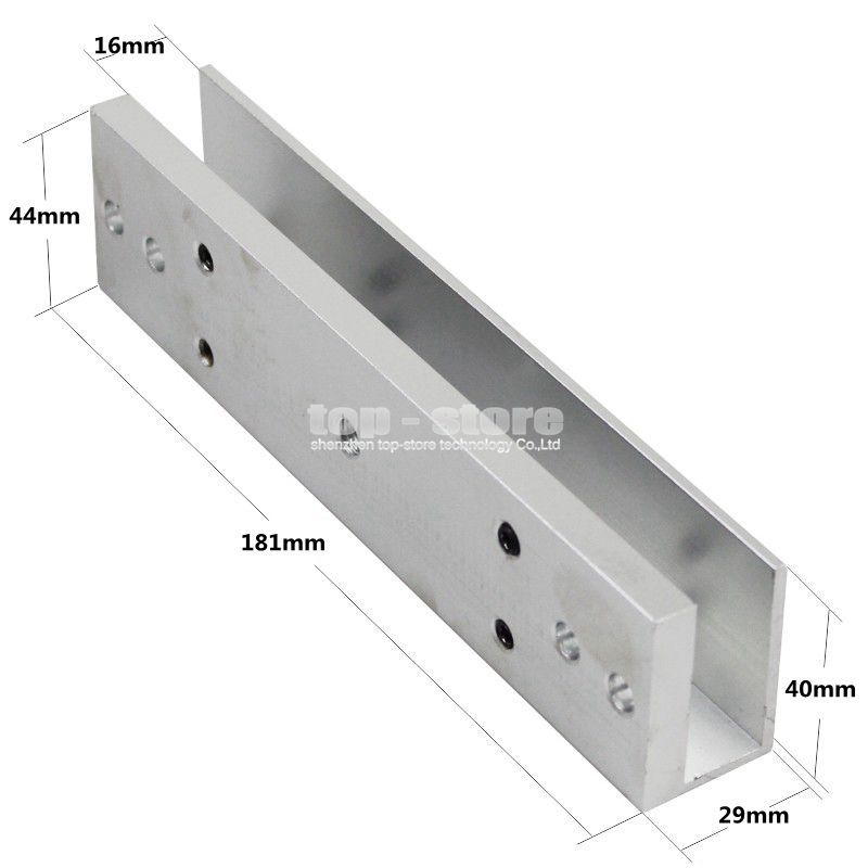 Aliexpress Buy Diysecur 280kg Magnetic Lock U Shape Bracket