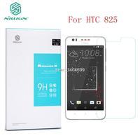 Sfor htc 825 protetor de tela nillkin incrível h vidro temperado para htc desire 825 com embalagem