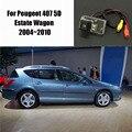 Thehotcakes Автомобильная Камера Заднего вида Для Peugeot 407 5D Недвижимости Wagon 2004 ~ 2010/Камера Заднего Вида/RCA NTST PAL/Номерного знака свет