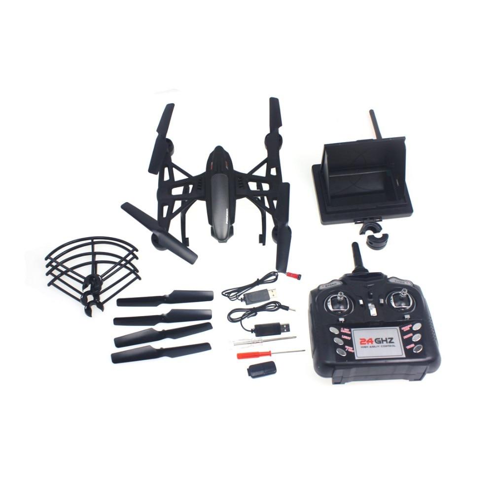 F16324 JXD 509G 5.8G FPV One-Key-return & Take Off Barometer Kit High RC Quadcopter with HD Monitor RTF jxd 509w wifi fpv rc quadcopter rtf 2 4ghz with camera headless mode one key return christmas gift jxd 509 wifi version