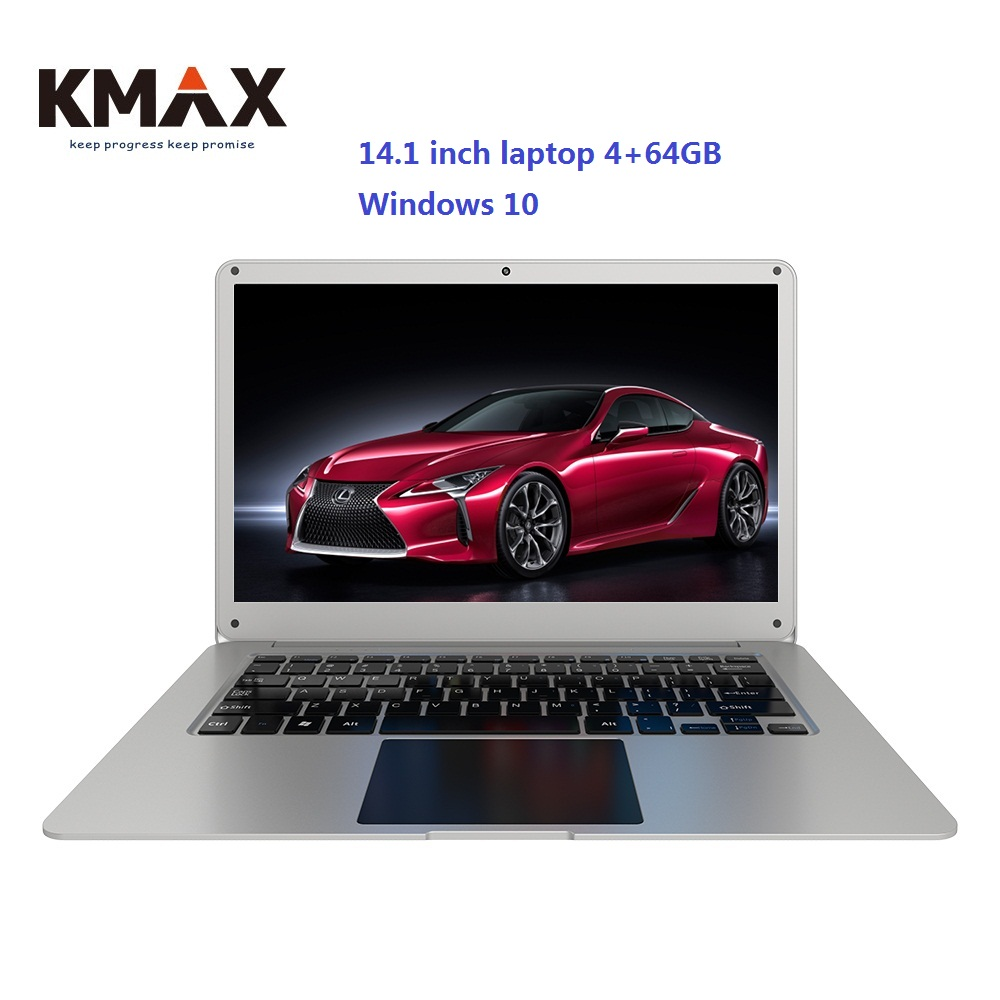 KMAX 14.1 inch LapBook Windows 10 Laptop intel Apollo Lake N3350 4GB RAM 64GB ROM Notebook WIFI HDMI RJ45 office 14