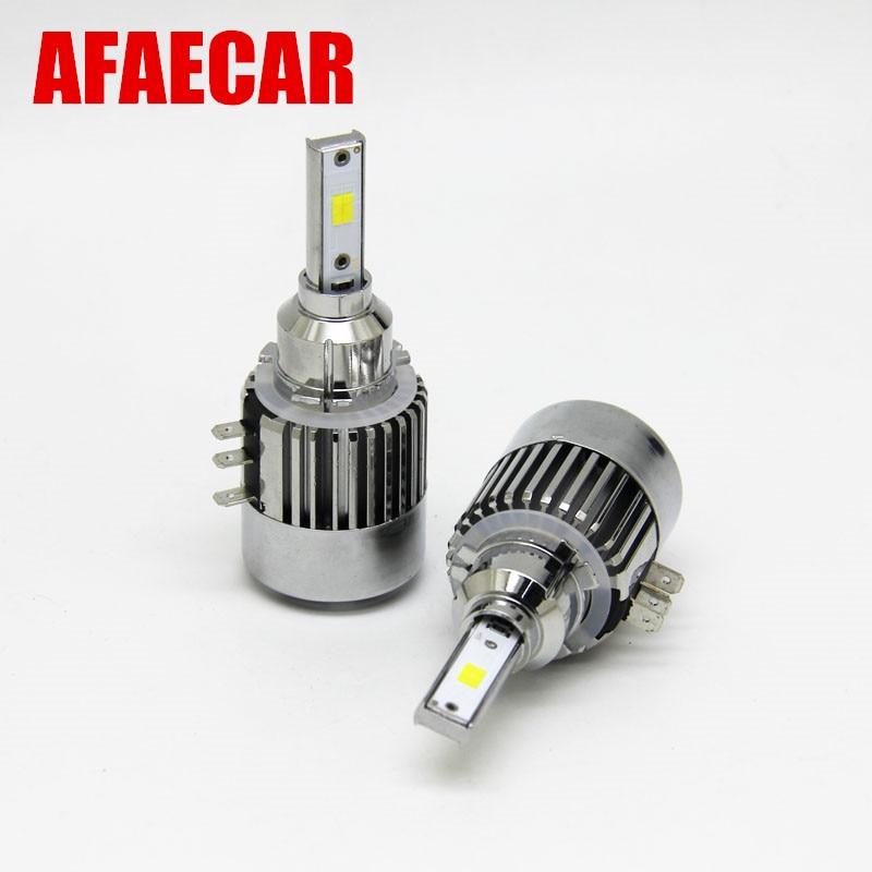 AFAECAR H15 LED Bulb 55W Car Headlight High Beam 6000K