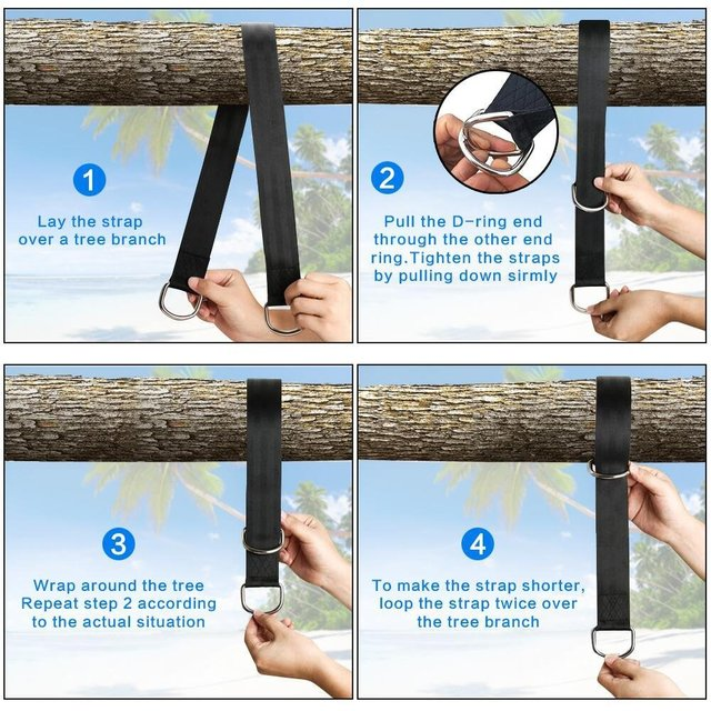 Tree Swing Hanging Belt