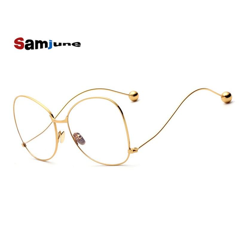 Samjune new women's glasses frame for women optical glasses frame eyeglasses glasses vintage oculos de sol feminino eyewear