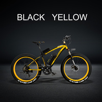 XF4000 1000W Electric Bicycle Men's E bike 26*4.0 Fat Snow Bike 48V 10Ah Lithium Ion Battery Mountain Bike Hydraulic Disc Brake
