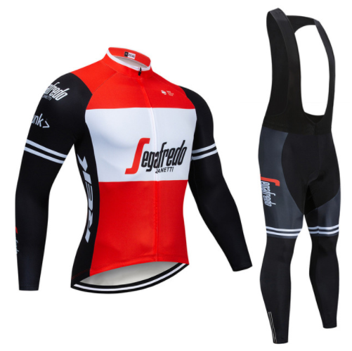 Pro Long Sleeve Spring Trekking Cycling Jersey Set Bike Clothing Uniform Racing Bicycle Clothes Wear Maillot Ropa Ciclismo Green