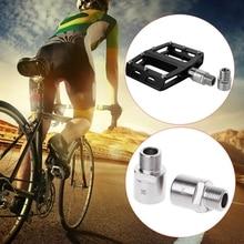цены на RISK One Pair Bicycle Pedal Extender Adapter Steel Titanium Bike Spacer MTB Mountain Road Bike parts Accessories  в интернет-магазинах