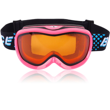 BE NICE children outdoor ski goggles snowboards high coverage cylindrical snow glasses snowboard goggles anti fog for child 1300