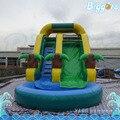 El transporte marítimo de 7x3.5x3 m Tobogan Inflable Tobogán de la Piscina Inflable Juguetes Para Niños Toboganes de Agua