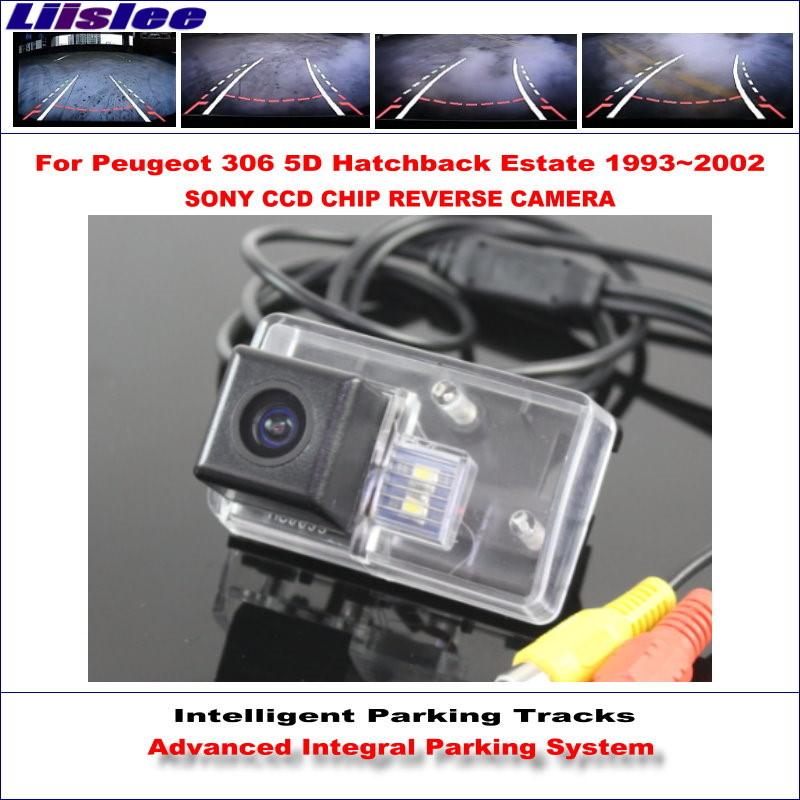 Liislee Reverse Original Style Rear Camera For Peugeot 306 5D Hatchback Estate 1993~2002 Intelligent Parking Tracks NTSC RCA AUX corporate real estate management in tanzania