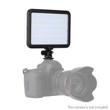 Triopo TTV 204 Ultra Fotoğraf Ekipmanları LED kamera Video Işığı Lambası Canon Nikon Pentax Olympus için Kamera Sony Pil