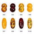 Top Quality Natural Âmbar Colar Fivela de Fecho Conectores 5 pçs/lote para Fazer Jóias 4 cores frete grátis