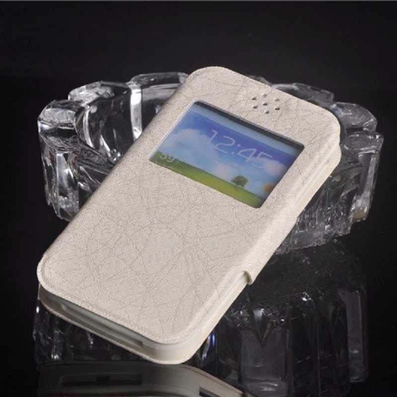 Funda Micromax Q4202, fundas de teléfono de silicona de cuero Pu con tapa de lujo nueva moda 2019 para Micromax Bolt Warrior 2 Q4202 envío gratis