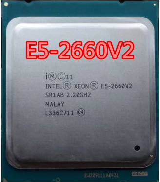 Intel <font><b>Xeon</b></font> Processor E5 2660 V2 <font><b>LGA</b></font> <font><b>2011</b></font> CPU Ten Cores <font><b>Xeon</b></font> Processor SR1AB Server Desktop CPU 2660v2 image
