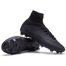 135a11dab9f2c Sufei hombres botas de fútbol Original FG Superfly de tobillo V césped de  fútbol de niños