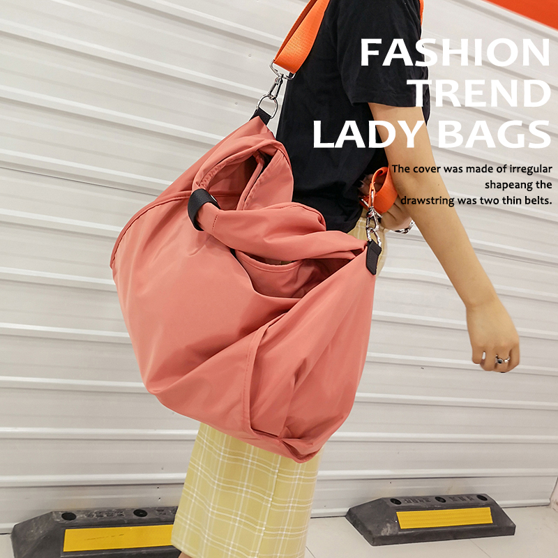 AOU Brand Large Capacity Nylon Shoulder Bags for Women 2018 Casual Tote Women's Handbags Ladies Travel Hobos Bag bolsa feminina brand designer large capacity ladies brown black beige casual tote shoulder bag handbags for women lady female bolsa feminina page 2