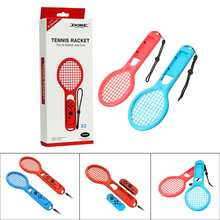 New Hot Sale 303 x 118 x 30 mm Tennis?Racket Red+Blue Tennis Double Suit For TNS-1843 Switch More Game Fun(China)