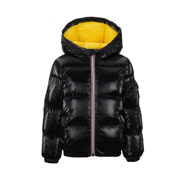 купить Children Outerwear Hooded Jacket Kids Winter Duck Down Snow Wear Silver Pink Black Warm Girls Coat Teenage Boys Parka Clothing по цене 3930.26 рублей