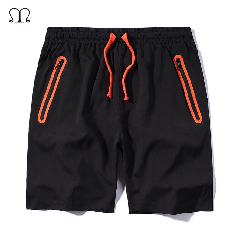 Men's Shorts Sweatpants Anti-Theft-Pocket Fitness Workout Bodybuilding Us-Size Summer