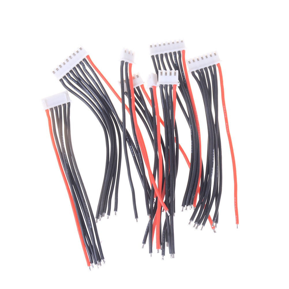 Cable 22 AWG Silicon <font><b>Wire</b></font> JST XH Plug 1PCS 10CM 1S <font><b>2S</b></font> 3S 4S 5S 6S 7S 8S 1P/2P/3P... Balance Charger image