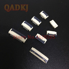 20pcs FFC / FPC connector 0.5 mm 4 Pin 5 6 7 8 10 12 14 16 18 20 22 24 26 18 30 P Bottom Contact Right angle SMD / SMT ZIF