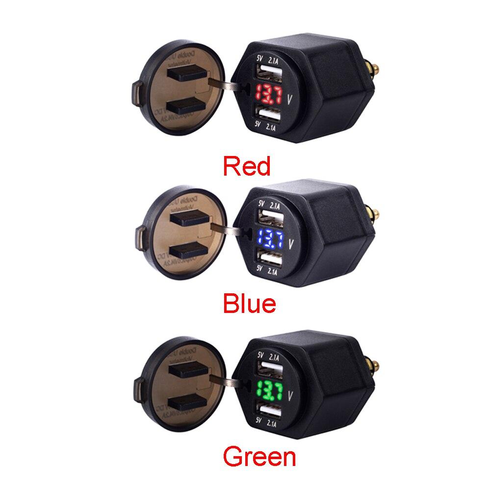 Porta USB Adaptador de Carregador de Plugue Display Digital para BMW F800GS F650GS F700GS R1200GS R1200RT F650 F700 F800 GS | R 1200 GS/RT ADV