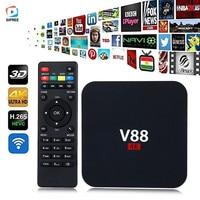 V88 A95X R1 X96 Mini 4K Android 6 0 Smart TV Box Rockchip 1G 8G 4