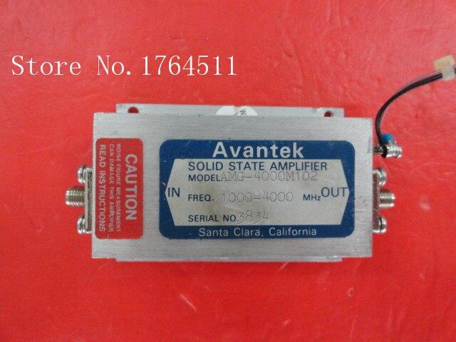[BELLA] AVANTEK AMG-4000M102 1000-4000MHz 15V SMA Amplifier Supply