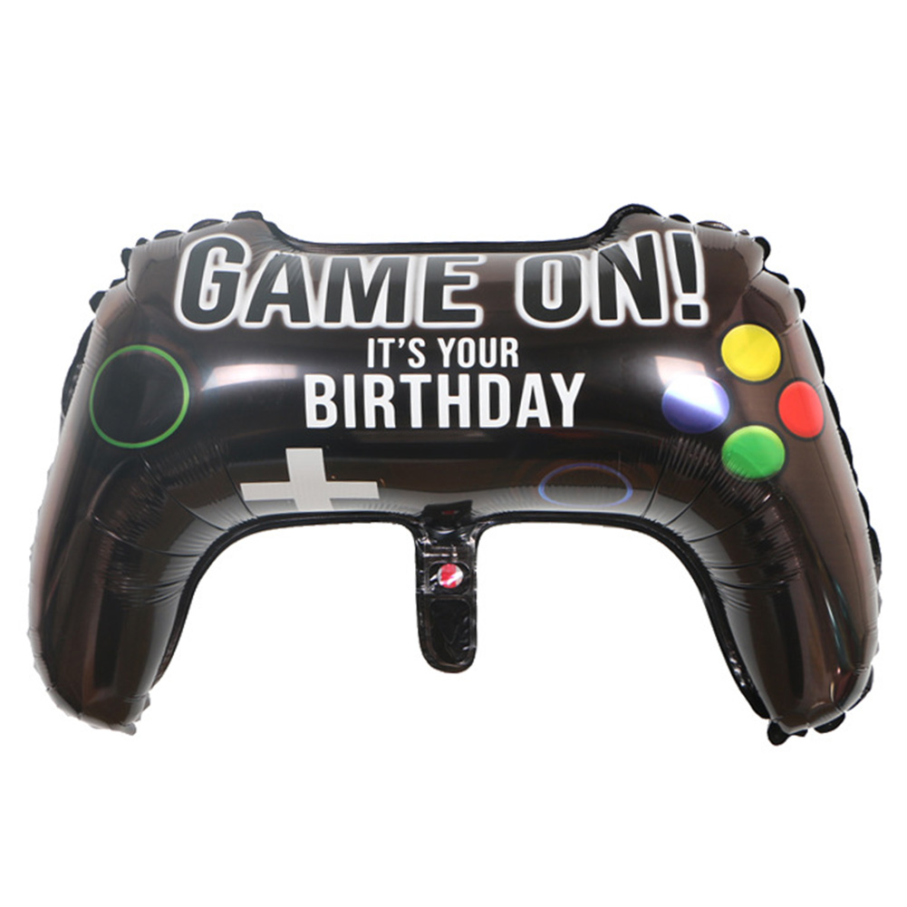 Funny 64x40cm Globes Game Balloon Game Controller Game-pad Joystick Foil Aluminium Balloon Birthday Party Supplies Toys