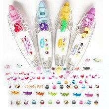 1pcs Korea Creative Correction Tape Sticker Cute Cartoon Stationery Decorative Novelty School Supplies 21 kinds of Styles