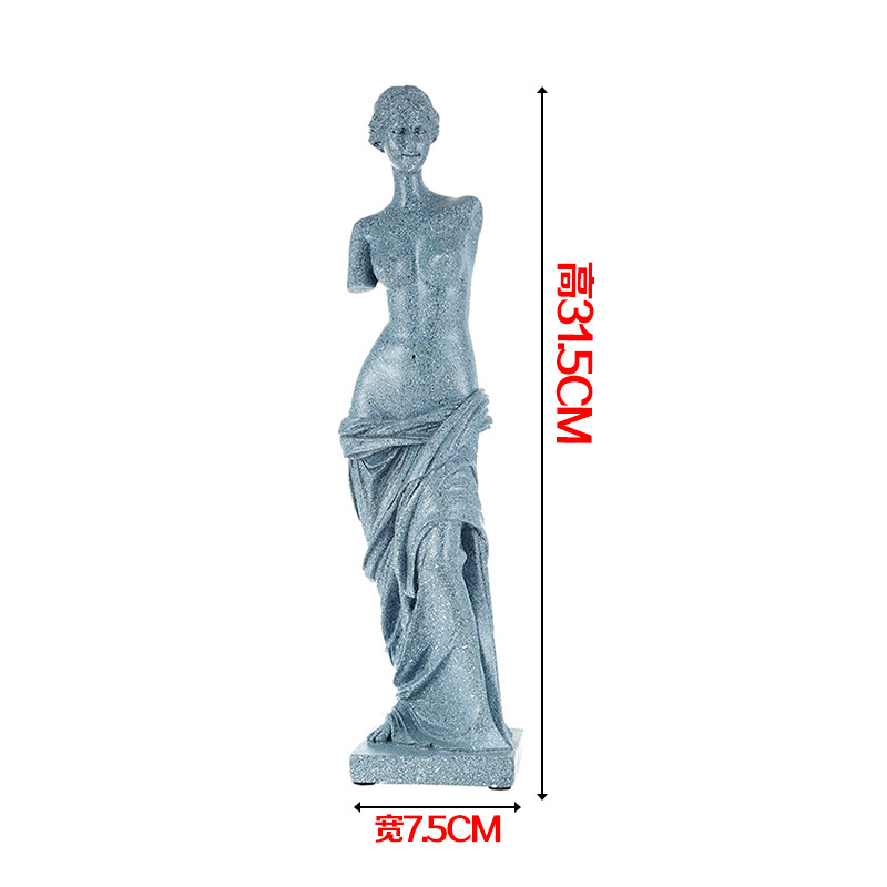 Full resin Thinker sculpture effigy meditator Works of art human body model Medical teaching Human muscle teaching model