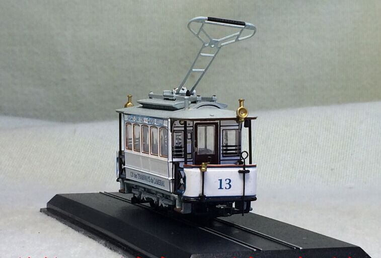 Special offer is rare 1:87 N 13 (CGFT) -1907 simulation static finished train model tram model Collection(China)