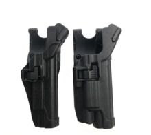 Military Tactical LV3 Men Airsoft Gun Waist Belt Holster hard plastic 1911 Holsters Black Pistol Colt