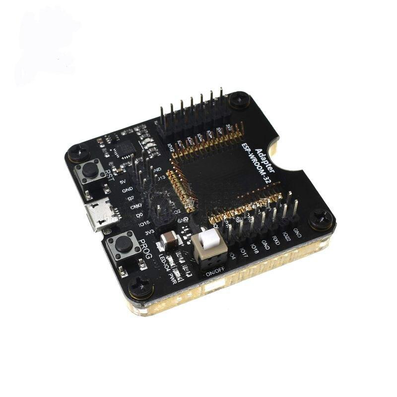 1 pc Presa Elettrica Attrezzo del Programmatore di ESP32 Adattatore Presa Per ESP-WROOM-32 Modulo USB per il Test a Bordo1 pc Presa Elettrica Attrezzo del Programmatore di ESP32 Adattatore Presa Per ESP-WROOM-32 Modulo USB per il Test a Bordo