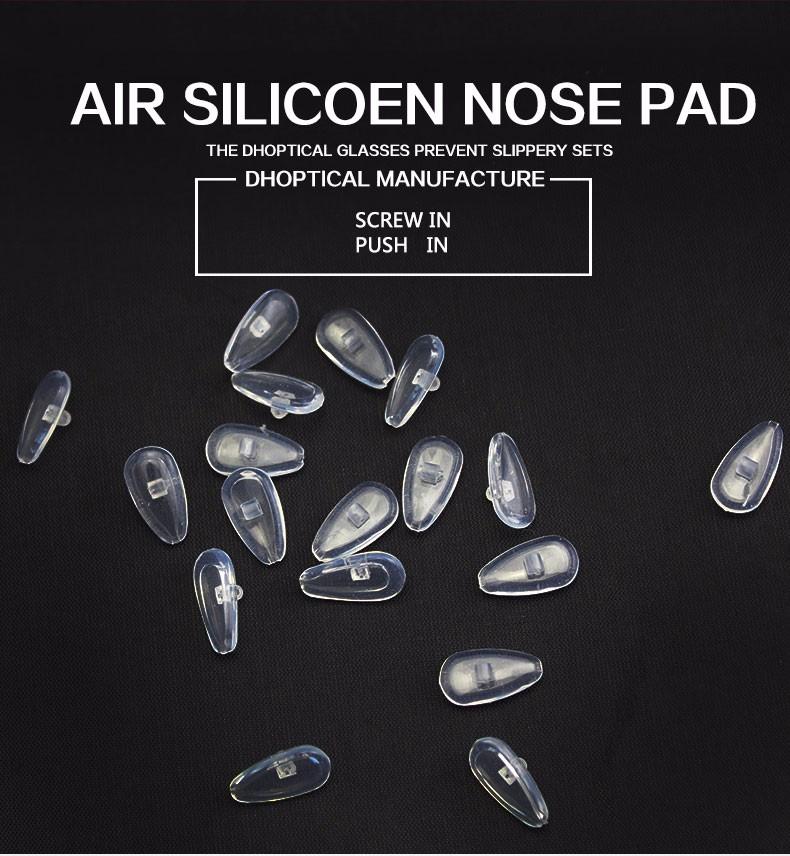 бесплатная доставка, силиконовые носовые упоры, 500 шт., воздуха носоупоры, очень мягкий аксессуары очки