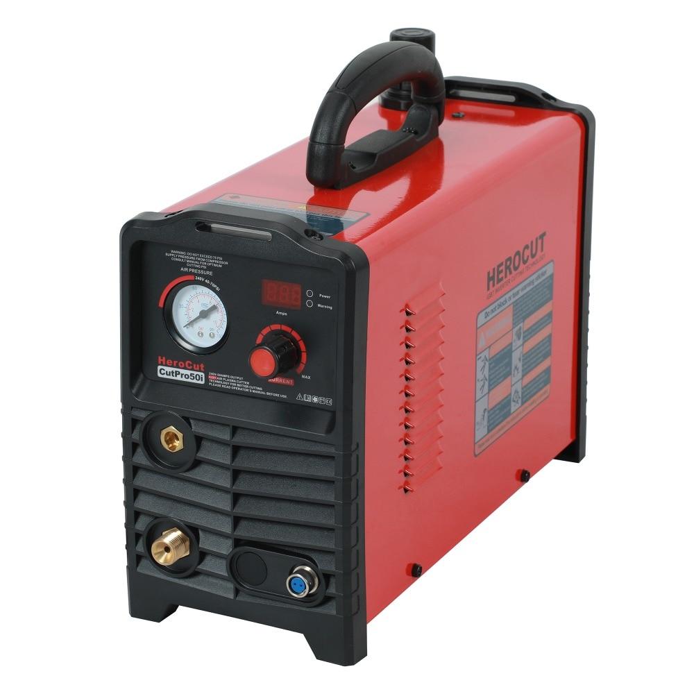IGBT Plasma Cutter CUTPro50i 220V 50Amps DC Air Plasma cutting machine clean cutting thickness 15mm