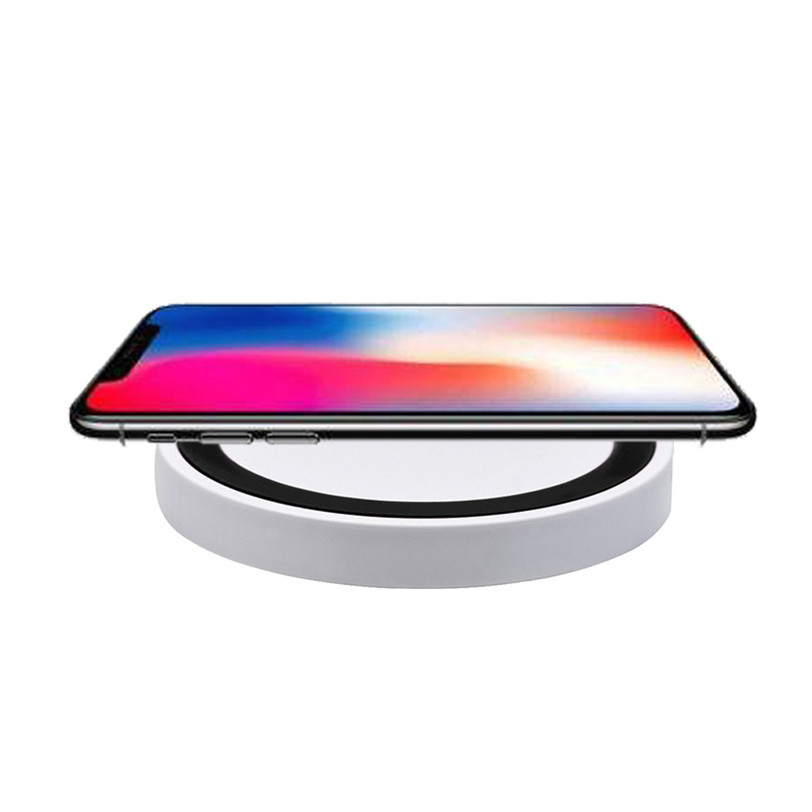 For Iphone 8 / 8 Plus / X Qi Fast Wireless Charger Rapid Charging 5V 1.5A Stand For Samsung Galaxy Note 8/S8 / S8 Plus O16