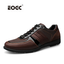 Genuine Leather Men Casual Shoes Outdoor Soft Working Shoes Handmade Outdoor Flats Shoes Men Zapatos Hombre стоимость