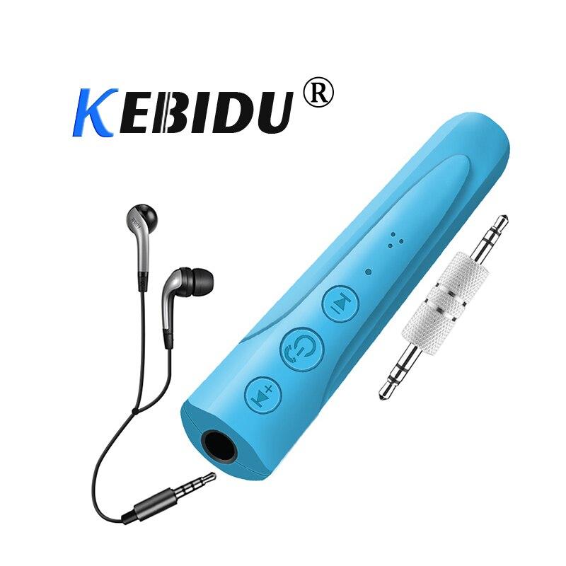 Funkadapter Zuversichtlich Kebidu I8 3,5mm Bluetooth 4,1 Kopfhörer Empfänger Kit Freihändiger Drahtloser Audio Musik Aux Auto Bluetooth Kopfhörer Mit Mikrofon Tragbares Audio & Video