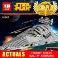 LEPIN 05062 1359 Unids Star Wars Emperador combatientes nave Modelo Kit de Construcción de Bloques de Ladrillos Compatibles 75055 Juguetes de Los Niños