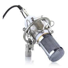 HFES BM-800 BM800 Condenser KTV Microphone Cardioid Pro Audio Studio Vocal Recording Mic KTV Karaoke+ Metal Shock Mount