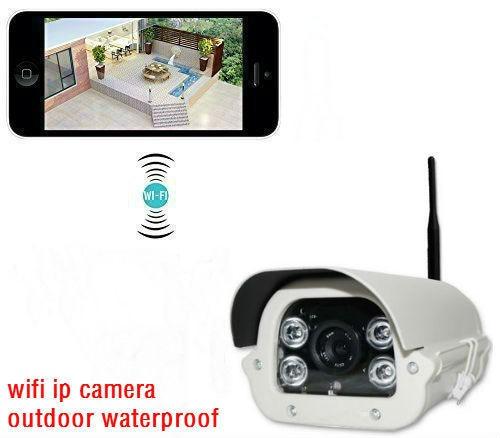 ФОТО Wireless Wifi IP Cam Monitor 960P Waterproof Outdoor Bullet Security Camera IR CUT Supports 30M Night Version Range Onvif