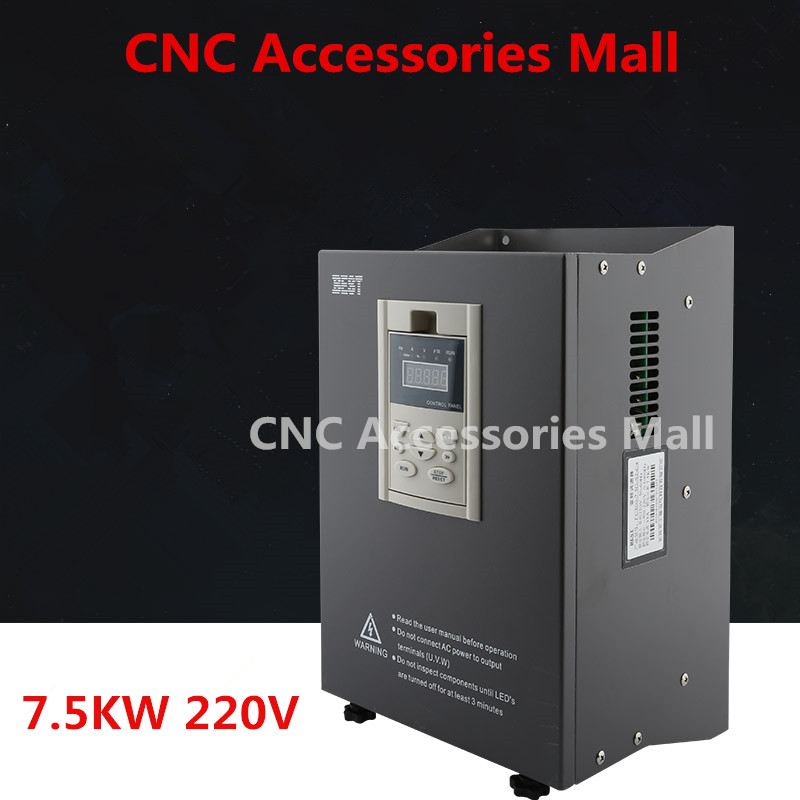 цена на 7.5kw 220V BEST Frequency Inverter VFD Variable Frequency Drive for spindle motor