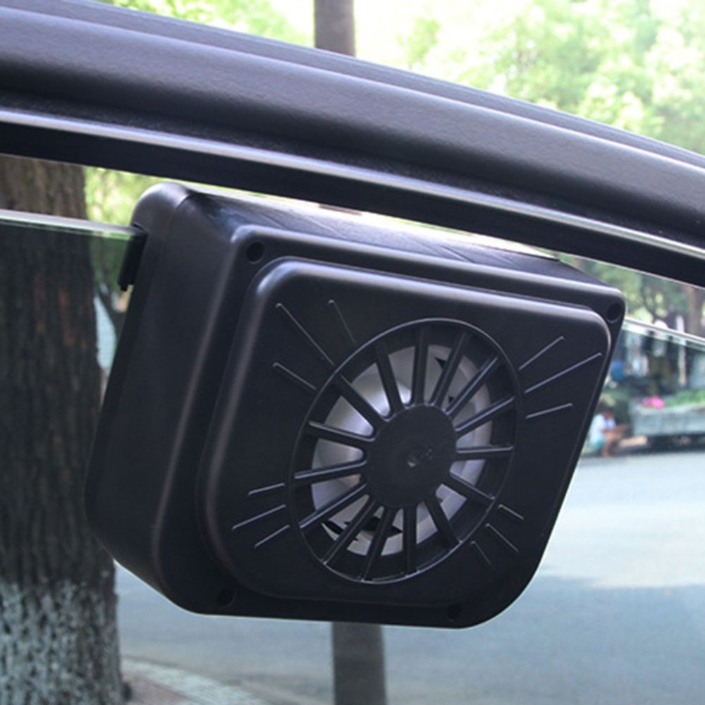 Car Styling Solar Power Auto Window Fan Environmental Cool