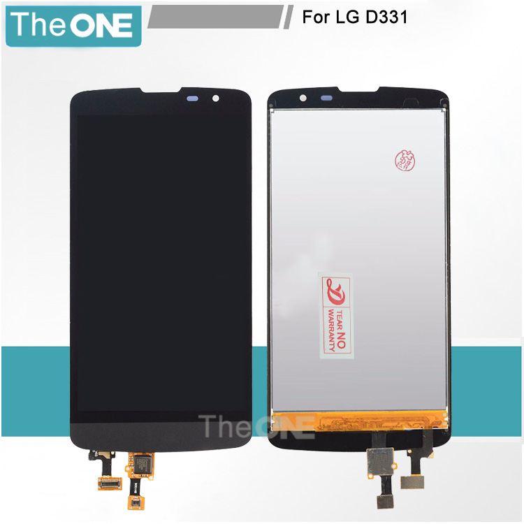 LCD For LG L bello D331 D335 D337 LCD Screen Display + Digitizer Touch Glass black free shipping